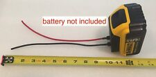 1x right angle battery adapter for DeWALT 20v MAX 12 gauge wire power connector