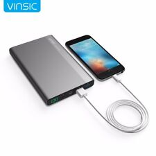 Vinsic 20000mAh 3A Type-C Fast Charge Power Bank Dual Smart USB Outputs