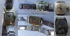 Año 1940. Excelente Reloj Sra. SenTra. Oro 585 milesim. Armi de época. 17 rubis.