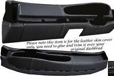 GREY Stitch adatta Porsche 944 & 968 86-95 OVALE DASH Dashboard Leather coprono solo