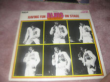 Elvis Presley; Having Fun With Elvis on Stage on  LP