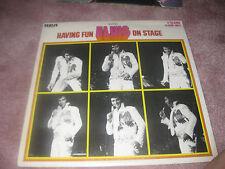 Elvis Presley; Having Fun With Elvis on Stage on  LP