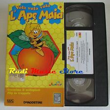 film VHS cartone L'APE MAIA - FLIP IN TRAPPOLA   - VOL. 8  DE AGOSTINI ( F166)