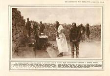 1915 Gallipoli French Soldier-priest Funeral Service Armoured Car Barricade Batt