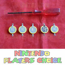 5 Pokemon Emerald, Sapphire, Ruby, Yellow Save Batteries CR1616 + Triwing Driver