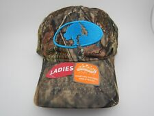 Womens Mossy Oak Camouflage Hunting Hat Cap Teal Obsession New Camo