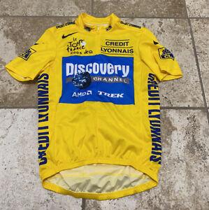 Discovery Channel Trek Nike 2005 Bike Cycling Jersey Shirt Cyclism Size Medium