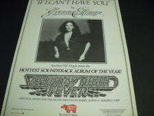 Yvonne Elliman from Saturday Night Fever original 1977 Promo Poster Ad mint cond