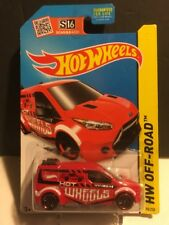 2015 Hot Wheels #98 HW Off-Road : Ford Transit Connect (Red)
