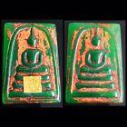 Phra Somdej Jade Pim Front Back Old Rare LP Toh Wat Rakang Thai Amulet Beautiful