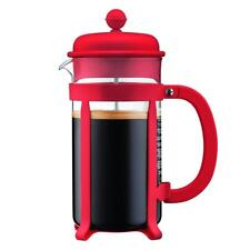 BODUM Java 8 Cup French Press Coffee Maker, Red 1 Litre