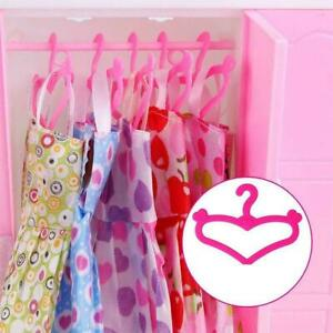 Mini Hangers Coat Dress Clothing Hangers Made For Dolls Toy Y6J2