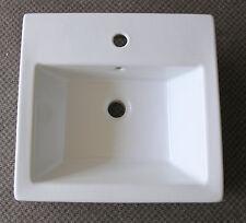NEW - Parisi Box Semi-Recessed Basin White AC5601 (PAR08)