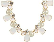 Kate Spade Crystal Chapel Necklace NWT Perfect Blushing Gems Luminous Beauty!