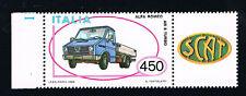 ITALIA 1 FRANCOBOLLO MACCHINA ALFA ROMEO AR 8 TURBO AUTO APP. 1986 nuovo**