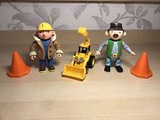 Bob The Builder Figure Bundle - Toy Construction Play Toys & Cones
