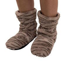 Moderne Wärmende Socken Tigermuster mit Hirse-Füllung Paarpreis Gr. 36-40