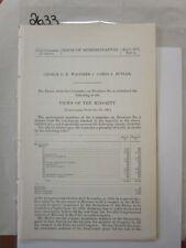 Govt Report 1902 George C. R. Wagoner vs. James J Butler #2633