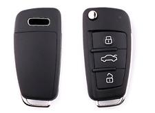 Funda silicona carcasa llave de mando para AUDI A3 A4 A6 A8 TT Q7 S6
