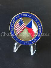 B84 US Embassy Czech Republic Ambassador Challenge Coin