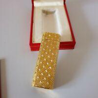 Accendino CARTIER  Oro 750 ( no placcato ) - Gold 18k ( no plated ),Lighter