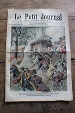 Petit journal dibujada Nº937 1908 Fuego los bosques en la Estados Unis