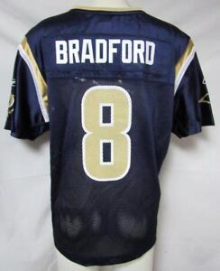 Rams Womens Size X-Large Sam Bradford #8 Reebok Jersey A1 1252