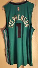 Adidas Swingman 2015-16 NBA Jersey Charlotte Hornets Stephenson Teal sz S