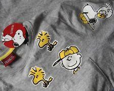 """T-SHIRT vintage style PEANUTS """"Snoopy & friend""""  tg.L NEW!"""