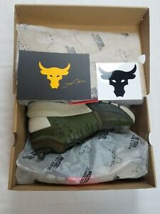 Under Armour Project The Rock 2 Training Shoe Olive Green UA Mens 2020 LIMITED