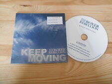 CD POP The Boxer Rebellion-Keep Moving (3 CHANSON) PROMO absentee
