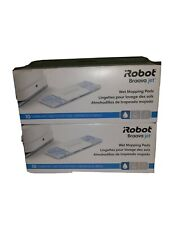 Lot of 2 iRobot Braava Jet Wet Mopping Pads 10 Count Floor Cleaning Pads Sealed