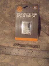 "Emergency/Survival:  UST Starflash MICRO Signal Mirror, 1.5""x2"" w/sighting hole"