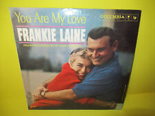AUTOGRAPHED / SIGNED FRANKIE LAINE - YOU ARE MY LOVE LP WHITE LABEL PROMO COPY