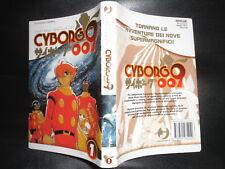 Shotaro Ishinomori CYBORG 009 Numero 1 Manga J-Pop Con Sovracopertina Robot