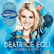 BEATRICE EGLI - GLÜCKSGEFÜHLE  CD  12 TRACKS  DSDS POP  NEU