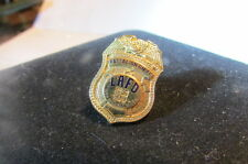 Fireman Mini Badge Pinback Los Angeles Battalion Chief Fire Department