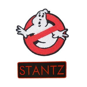 Ghostbuster Embroidery Patches Iron On Sew Tag Name Jacket Badge Jeans Applique