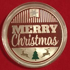 2017 CHRISTMAS COIN - HAND PAINTED IN AIR-TITE CAPSULE    ****FREE SHIPPING****