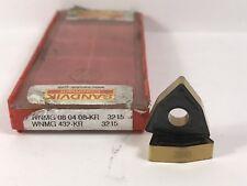 SANDVIK WNMG 432-KR WNMG080408-KR New Carbide Inserts Grade 3215 2pcs