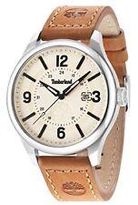 Timberland Men's Quartz Watch with Dark Brown Leather Strap TBL.14645JS/07
