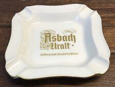 Asbach Uralt Ashtray German Brandy Gold Trim H & Co Selb Bavaria Heissrich