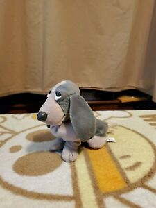 """Applause Hush Puppies Special Ed Approx 5"""" Pine Basset Hound Dog Plush #61286"""