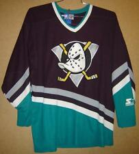 Mighty Ducks Of Anaheim Size Xl Eggplant Color Starter Jersey
