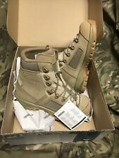 Genuine British Issue Desert Lowa Elite Boots!New In Original Box! Size 6!