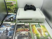 Xbox 360 Console With Controller and Game Lot Tested
