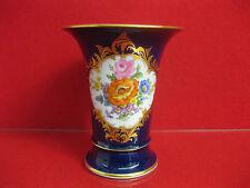 Meissen 1 Wahl Vase Kobalt Gold Amphore 14 cm B Form X Form Figur Prunk