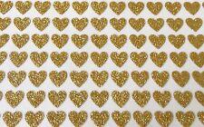 96 Adesivo cuore oro - 7mm 4 Arte Delle Unghie Partecipazioni Di Nozze Album