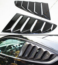 For Ford Mustang 2015-17 GT Carbon Fiber Side Window Quarter Scoop Louver Cover