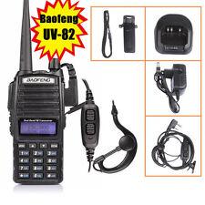 UV-82 Handheld Radio Scanner Ham Two-way Walkie Talkie Transceiver Police EMS US